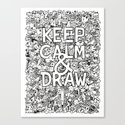 Keep Calm and Draw by kerbyrosanes