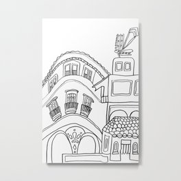Beautiful Malaga City Metal Print