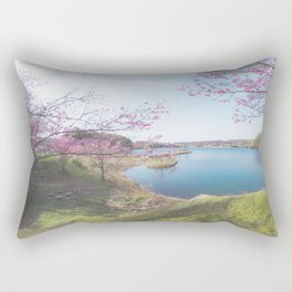 Beautiful Thing I Saw Today - Sakura Rectangular Pillow