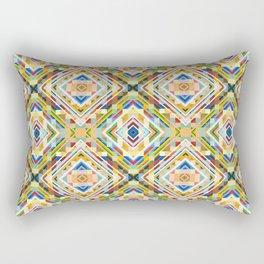 Minimal Geometric Genuine Pattern Seko Rectangular Pillow