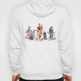 Art about music and dance Hoody
