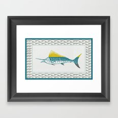 The ELusive Punk Fish 2 Framed Art Print
