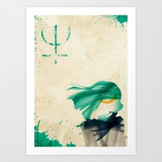 Sailor Neptune Art Print