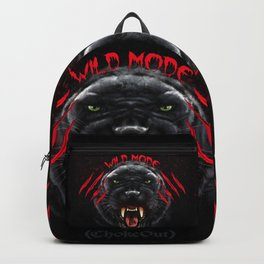 Wild Mode. Bjj, Mma, grappling Backpack