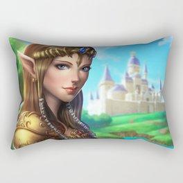Princess Zelda pinup Rectangular Pillow