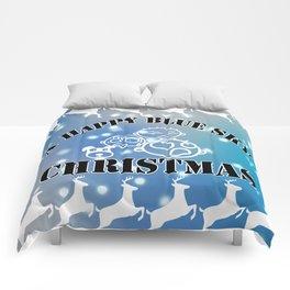 My happy Blue Christmas! Comforters