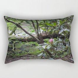 Rhododendron on Abrams Creek Rectangular Pillow