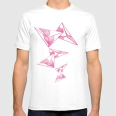 CRAYON LOVE: Strawberry Milk From The FUTURE MEDIUM White Mens Fitted Tee