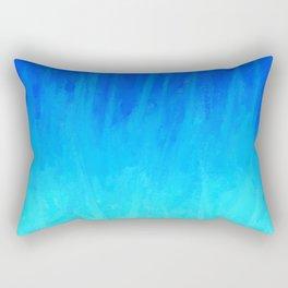 Icy Blue Blast Rectangular Pillow