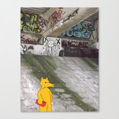 LORD QUAS. Canvas Print