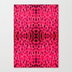Pink tears Canvas Print