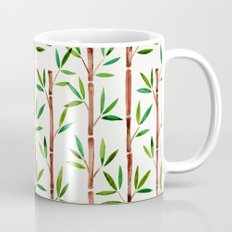 Bamboo Stems – Green Leaves Mug