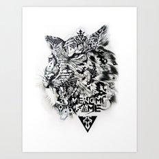 Venom Fame Art Print