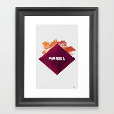 Parabola Framed Art Print