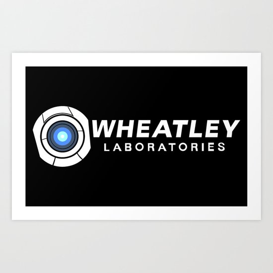 Wheatley Laboratories Art Print