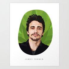 James Franco Art Print