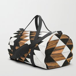 Urban Tribal Pattern No.9 - Aztec - Concrete and Wood Sporttaschen