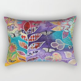 Garden Riot Rectangular Pillow