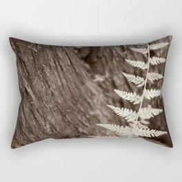Single Copper Fern Rectangular Pillow