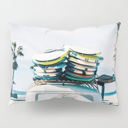 Surfing van Pillow Sham