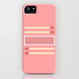 #75 Matches iPhone Case