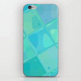 Re-Created Mirrored SQ IV by Robert S. Lee iPhone Skin