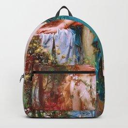 A Gentle Moment - Hans Zatzka Backpack