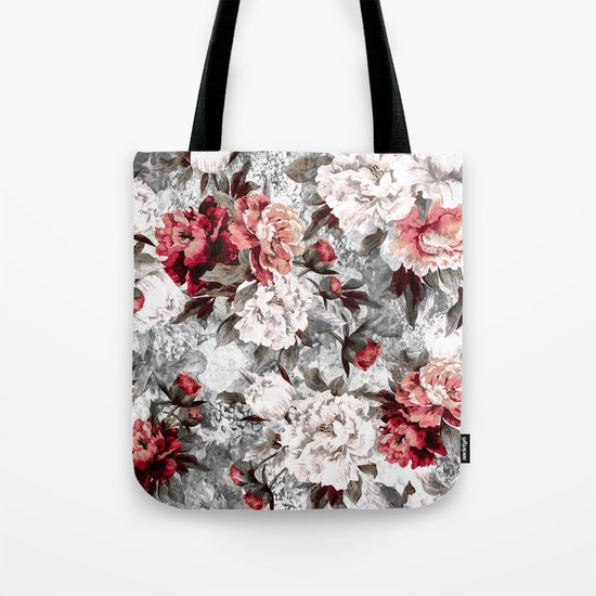 Watercolor Roses Tote Bag