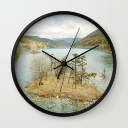 Zen_Island Wall Clock