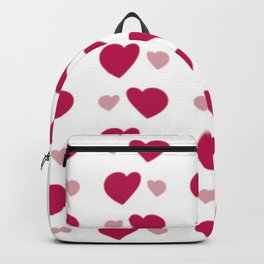 Heart Pattern Love Gift for Lovers Backpack