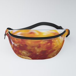 Citrine Amethyst Geode // Title: Amber Waves Fanny Pack