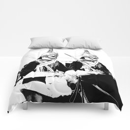 Household Cavalry Changing Of The Guard Art Comforters