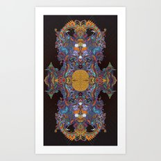 A Bad Case of the Visions. Art Print