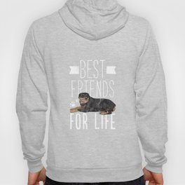 Rottweiler best Friends for life T Shirt funny Dog Breed Tee Hoody
