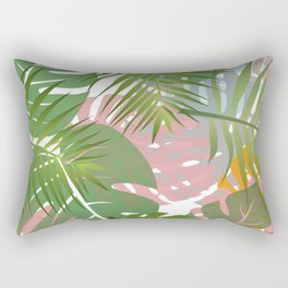 Tropical Morning #society6 #buyart Rectangular Pillow