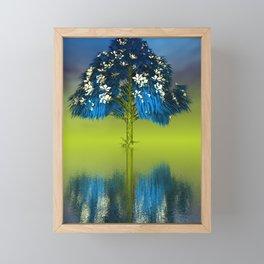strange light somewhere -28- Framed Mini Art Print
