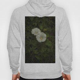 White wild flowers Hoody