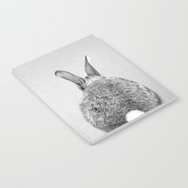 Rabbit Tail - Black & White Notebook