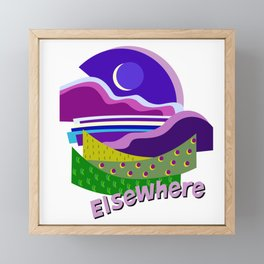 Evening in Elsewhere Framed Mini Art Print