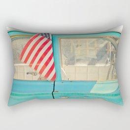 I love my car Rectangular Pillow