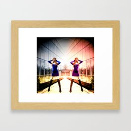 Lynn Twin Framed Art Print