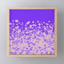 Leaf Blower PINK Framed Mini Art Print
