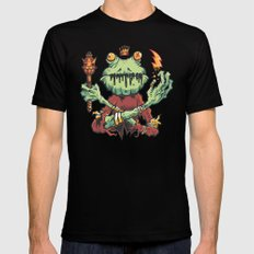 FROG KING Mens Fitted Tee MEDIUM Black
