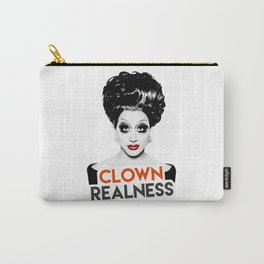 """Clown Realness"" Bianca Del Rio, RuPaul's Drag Race Queen Carry-All Pouch"