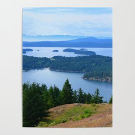 TURTLEBACK MOUNTAIN FATHER'S DAY HIKE PACIFIC NORTHWEST Poster