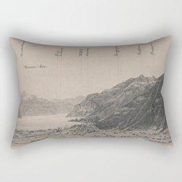 Old Swiss Panorama Rectangular Pillow