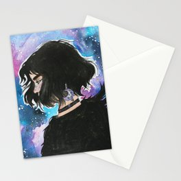 the raven cycle BLUE Stationery Cards