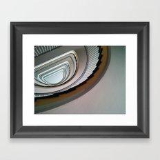 Muenster Staircase Framed Art Print