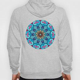 Meditation colorful mandala Hoody