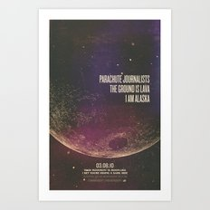 Parachute Journalists - Moonlike Art Print